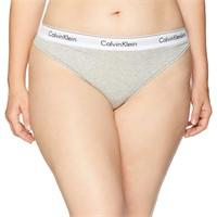 Calvin Klein Women's 1X Modern Cotton Thong Panty,