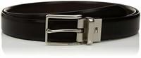Tommy Hilfiger Men's 32 Casual Belt, Black logo