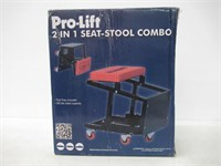 Pro-Lift C-2800 Grey Creeper Seat and Stool