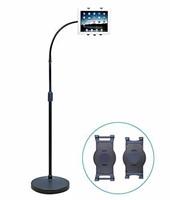 AIDATA Universal Tablet Gooseneck Floor Stand,