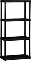Gracious Living 4-Shelf Light Duty Shelf Unit,