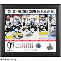 NHL Fanatics Authentic Los Angeles Kings Framed