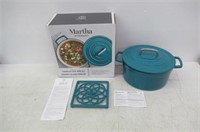 """""""As Is"""" Martha Strewart Collector's Enameled Cast"""