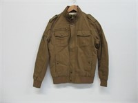 WenVen Men's Small Full Zip Military Jacket Casual
