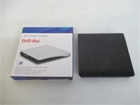 External DVD CD Burner Portable CD/DVD-RW Reader