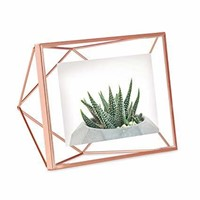 Umbra Prisma Picture Frame, 4x6 Photo Display for
