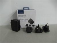 Insignia 3 USB International Wall Charge