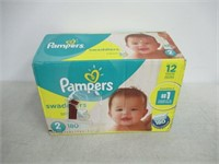 Pampers Diapers Size 5, Swaddlers Disposable Baby