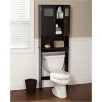 Zenna Home Over The Toilet Bathroom Spacesaver,