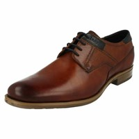Bugatti Men's 44 Dress Shoe, Cognac