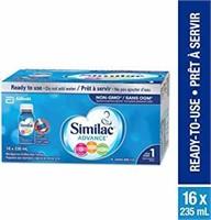 Similac Advance Step 1 Non-GMO Baby Formula, Ready