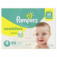 Pampers Diapers Size 4, Swaddlers Disposable Baby