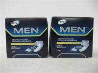 (2) Tena Men Absorbent Guard Moderate x 10 units