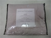 Distinctly Home 400 Thread Count 4 Piece Sheet