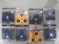 Lot of (8) Sports Fidget Spinners