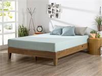 Zinus 12 Inch Deluxe Wood Platform Bed / No