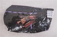Exposed SM/MED Corset & G-String Set, Purple Haze