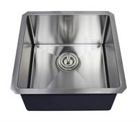 """Ariel 18x18"""" Single Bowl Undermount Kitchen Sink"""
