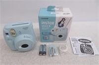 Fujifilm Instax Mini 9 Instant Camera, Ice Blue