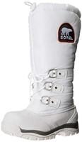 Sorel Women's 8 M US Snowlion XT Boot, White/Red