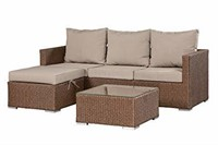 Patioflare PF-CS308-BR Sofa Set Without Storage
