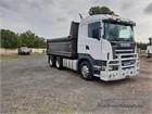 Scania R580 6x4|Tipper