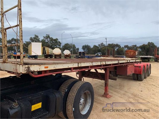 1987 Loadmaster Flat Top Trailer - Trailers for Sale