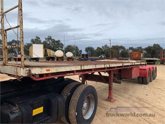 1987 Loadmaster Flat Top Trailer Trailers for Sale