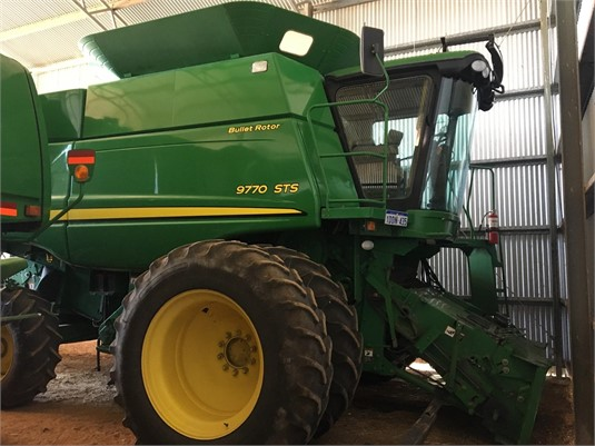 2009 John Deere 9770 STS - Farm Machinery for Sale
