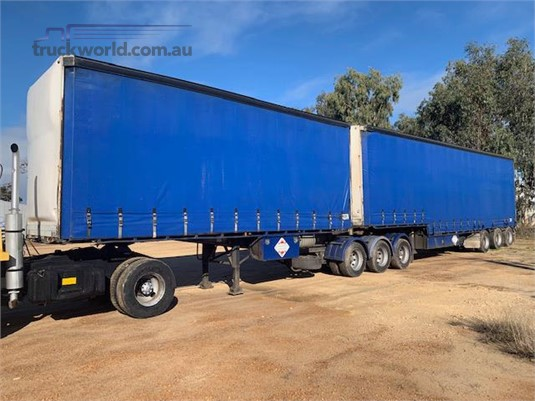 2004 Southern Cross Curtainsider Trailer - Trailers for Sale