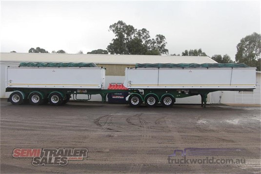 2008 Hercules STAG TIPPER B DOUBLE SET - Trailers for Sale