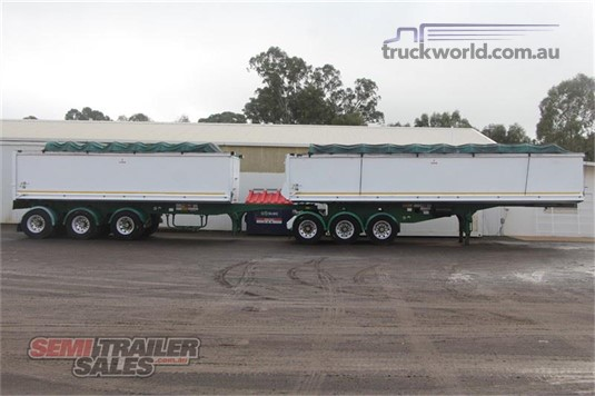 2008 Hercules STAG TIPPER B DOUBLE SET Trailers for Sale