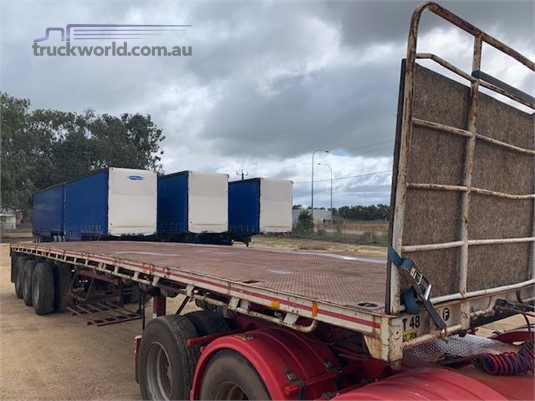 1985 Loadmaster Flat Top Trailer - Trailers for Sale
