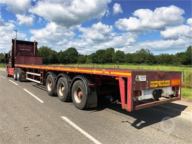 Used Flatbed Trailers for sale in the United Kingdom - 66