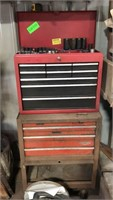 Craftsman stackable Tool Box contents included,