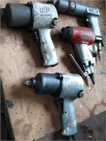 Air impacts, air drill