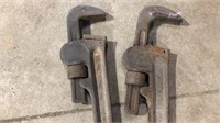 """Ridgid  tool pipe wrenches 36"""""""