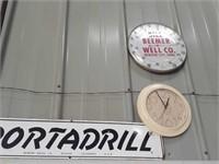 Portadrill metal sign, Denver Colorado,