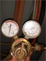 Commercial industrial cord, gas torch with hose,