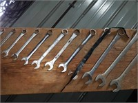 Wrench set, 3/8 - 1 1/16