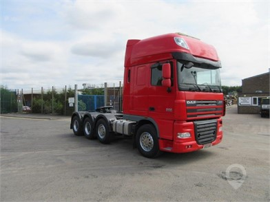 Used DAF XF105 510 Trucks for sale in the United Kingdom