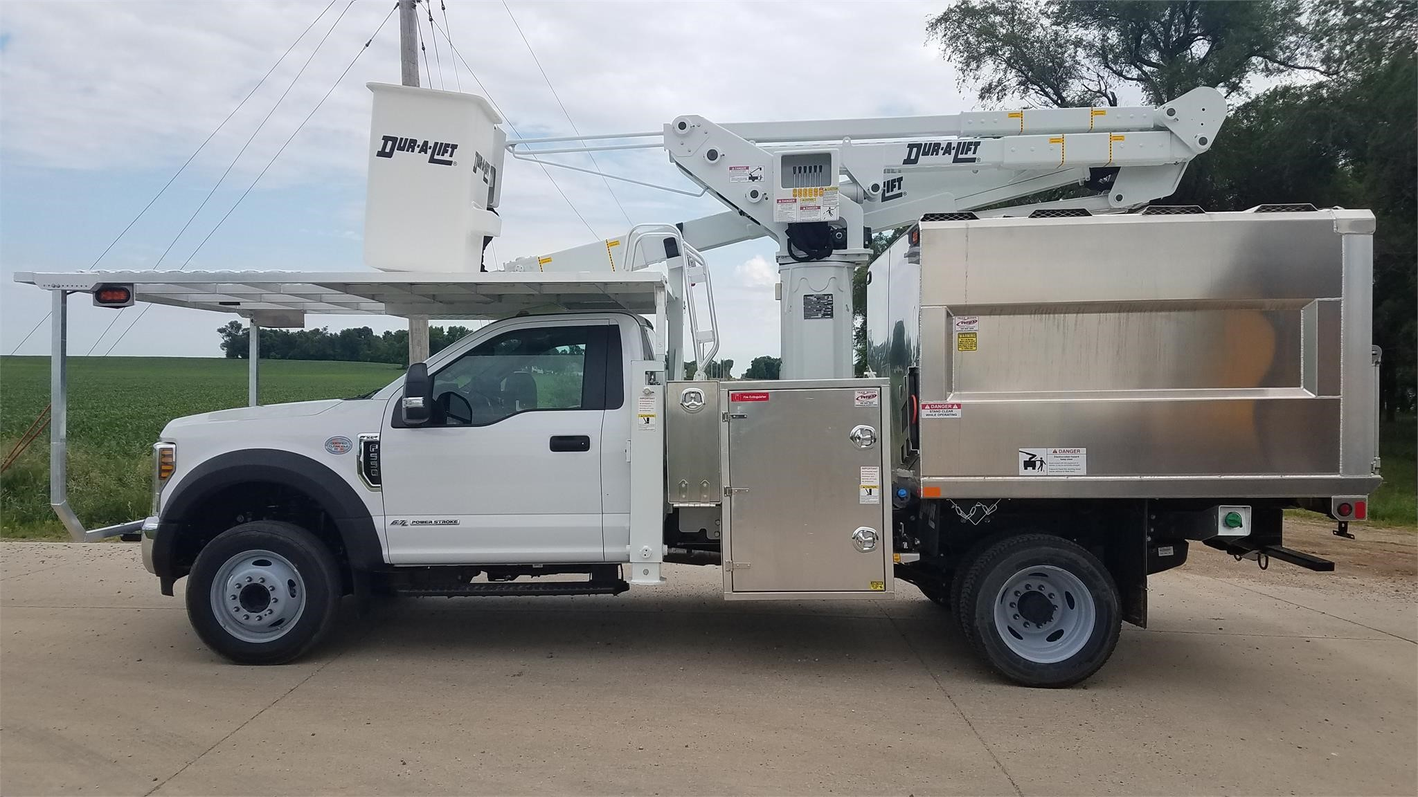 F550 For Sale >> 2019 Duralift Dtax45 Mounted On 2019 Ford F550 For Sale In Hodgkins Illinois