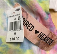 Inspired Hearts Tie Dye Sweater & Shorts