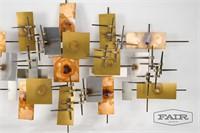L. Kirkwood (Kirk) McMinn Nail Wall Sculpture