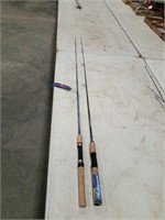 South Bend Microlite fish pole 5' & Shakespeare