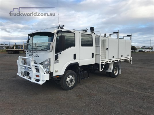 2008 Isuzu NPS 300 4x4 Crew Carroll Truck Sales Queensland - Trucks for Sale
