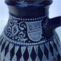 Blue and White Glaze Pitcher