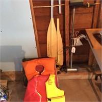 Boat Lot, Shakespere Wonder Troll, Oars, Anchor
