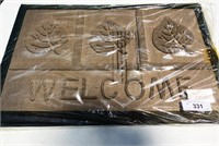 2 New  Welcome Mats