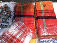 Large Lot of Packaged Kitchen Towels, Pot Holders